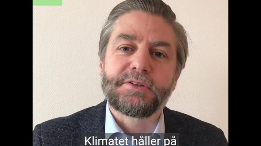 Forskaren Thomas Keller från SLU berättar om sin forskning om att odla i extremt väder.